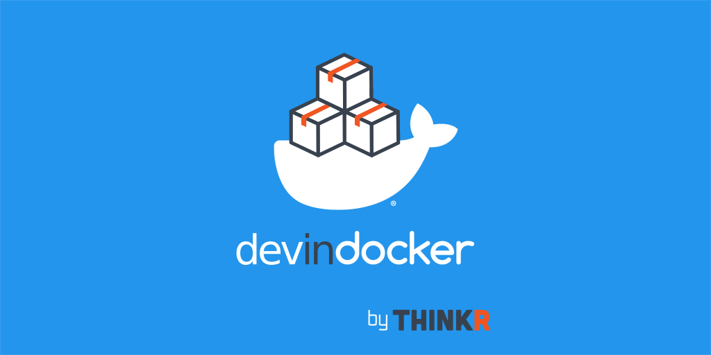 devindocker package logo for development in docker container